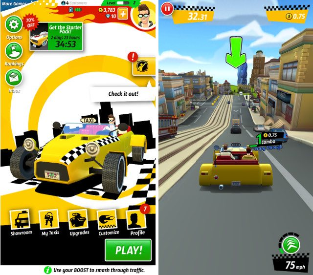 gioco taxi per iphone