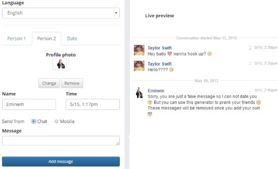 Sito per Creare False Chat di Facebook Online e Gratis - Come utilizzare Galau.Me