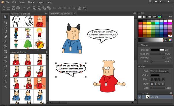3 Programmi per Creare Fumetti su Windows 10 - EasyComic