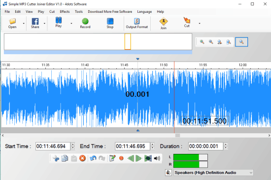 5 Programmi Gratis per Unire File Audio su Windows 10 - Simple Mp3 Cutter Joiner Editor