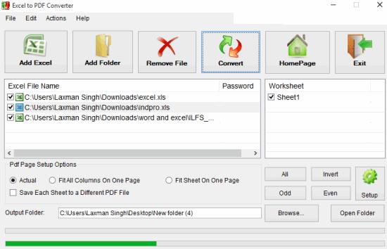 3 Programmi Gratis per Convertire Più File Excel in PDF