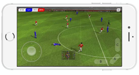 gioco di calcio per iphone
