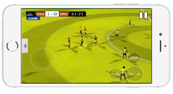 live calcio per iphone