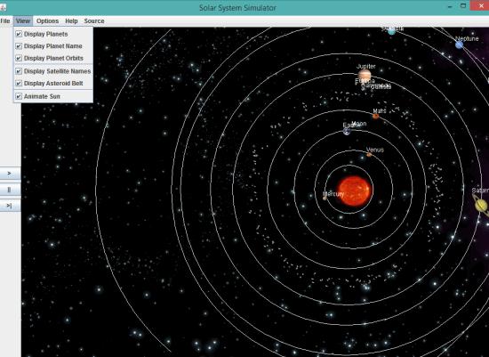 programma per esplorare lo spazio