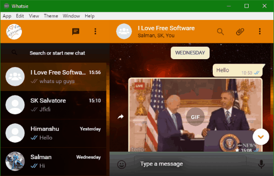 5 Programmi Gratis per WhatsApp sul PC - Whatsie