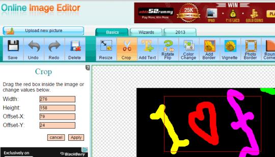 5 Siti per Tagliare GIF Animate Online e Gratis - Online Image Editor