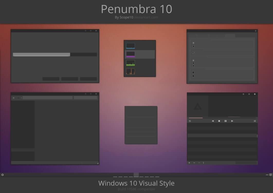 template windows 10