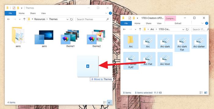 tema non windows