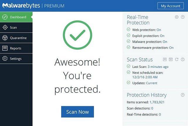 protezione tramite antivirus