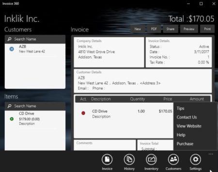Invoice 360