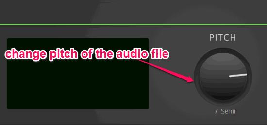 modificare suono mp3