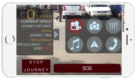 dash cam app per iphone gratis