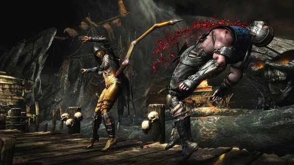 Mortal Kombat per ps4 e xbox