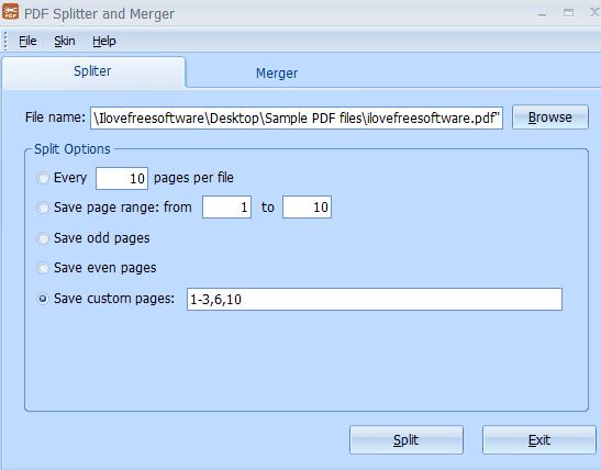 manipolazione file PDF
