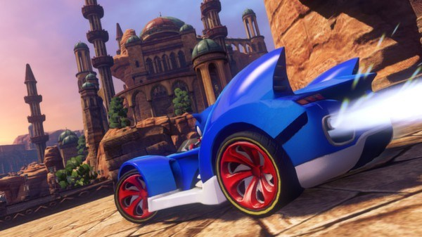 Sonic and All-Stars Racing Transformed co op