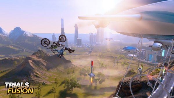 Trials Fusion, gioco di moto per ps4