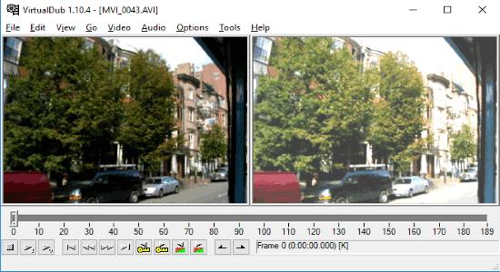 VirtualDub video editor