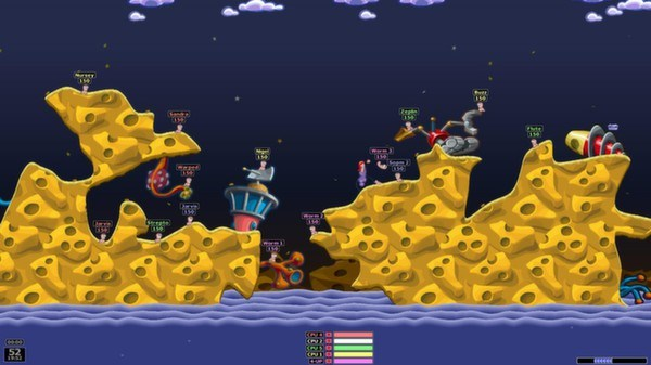 Worms Armageddon multiplayer