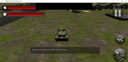 Battlefield Tanks Blitz Mission 3D