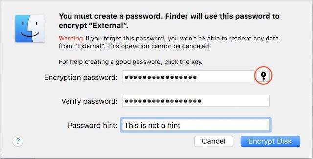 come Proteggere con password un hard disk esterno