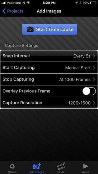 iTimeLapse Pro per iphone