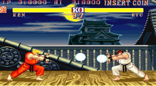 Street Fighter 2 retro