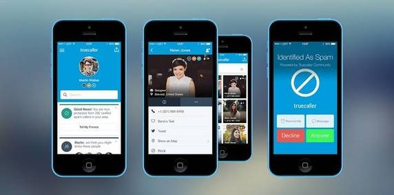 Truecaller interfaccia