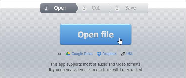 file audio per creare la suoneria