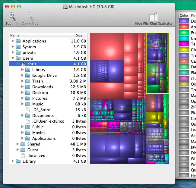 Controllare l'hard disk