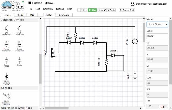 progetto circuito elettronico