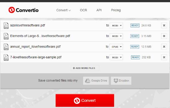 convertire i PDF