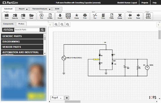 diagrammi elettronici