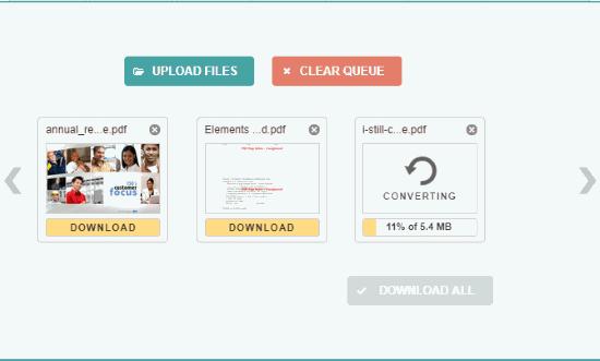 convertire PDF in Mobi online