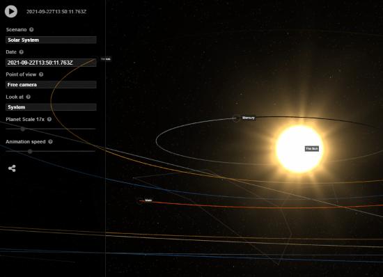 simulatore orbite terrestri