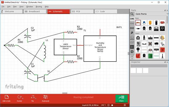 disegnare schemi elettrici