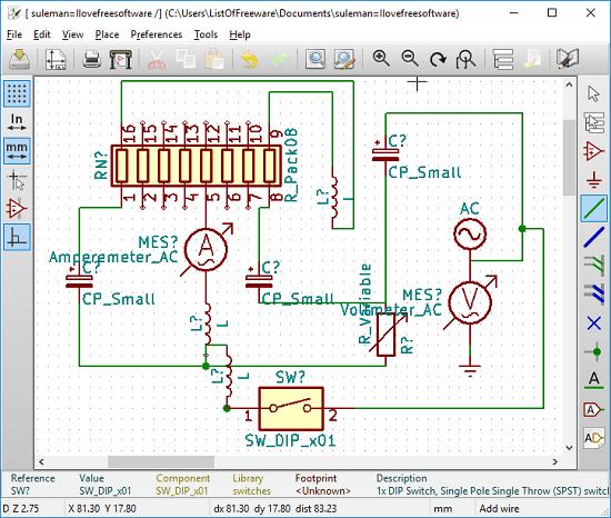 Schemi Elettrici Per Bambini : Disegnare schemi elettrici programmi gratis per windows