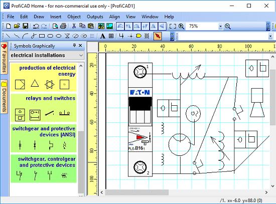 Schemi Elettrici Gratis : Disegnare schemi elettrici programmi gratis per windows