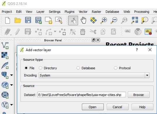 Convertire SHP in KML su Windows