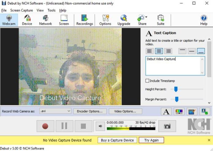 software webcam