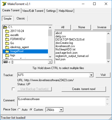 programma per creare torrent