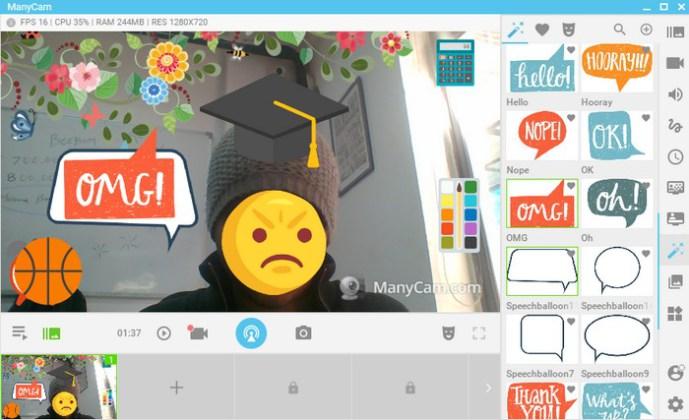 software webcam gratis