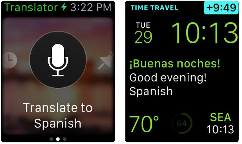 tradurre con apple watch