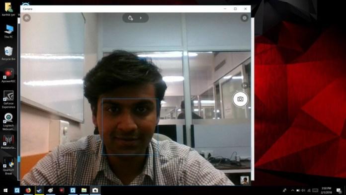 windows webcam