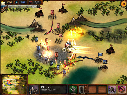 Autumn Dynasty RTS for ipad