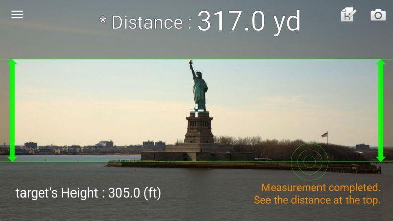 misurare distanze iphone