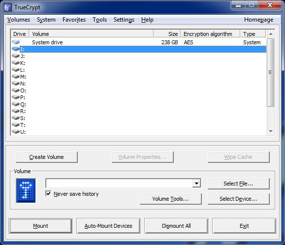 criptare dati hard disk