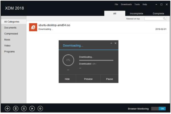 gestione dei download
