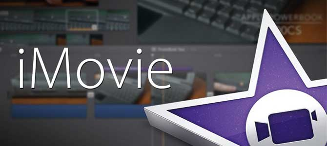creare video con foto imovie