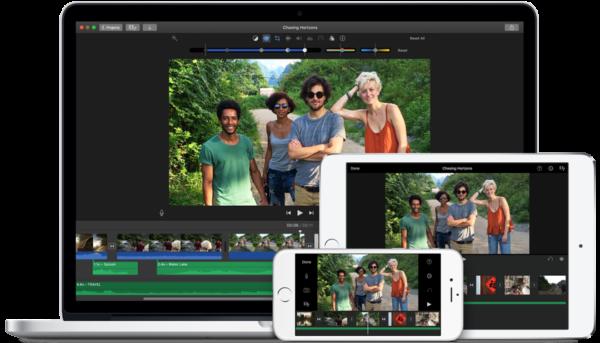 creare video su imovie