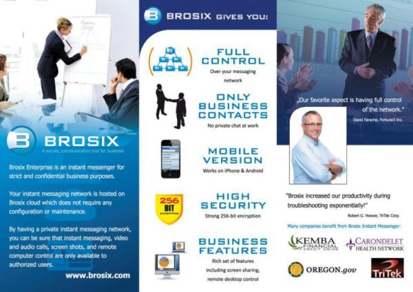 Brosix P2P chat